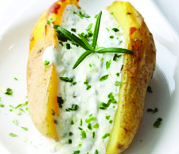 Twice Baked Potato, Sour Cream & Chives 4/6 oz.